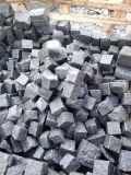 Cubi grigi naturali/Cubestone/pietra cubica del granito per la pavimentazione esterna di pavimentazione/del lastricatore/marciapiede del giardino