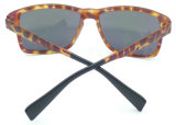Nouveau design162969 Fqp cool Mens style lunettes Demi lentille Miroir des lunettes de soleil