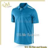 Poloshirt pour le fournisseur de T-shirt de polo de piste d'épissure des hommes