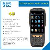 Lecteur de RFID raboteux tenu dans la main PDA du faisceau 4G de quarte de Zkc PDA3503 Qualcomm avec du SYSTÈME D'EXPLOITATION androïde