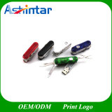 Azionamento dell'istantaneo del USB della lama di esercito del USB di Thumbdrive del bastone di memoria del metallo