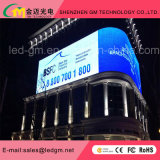 P10mm 10000CD / M2 de acceso frontal resolución a todo color al aire libre pantalla LED
