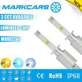 Markcars universel de voiture et moto Projecteur LED 9007