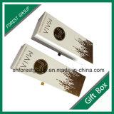Boîte cadeau Coardboard pour le vin à l'Emballage avec feuille d'or Stampping