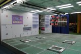 専門のスプレー式塗料ブースの工場修理工場のペンキブース