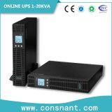 ' UPS en línea del montaje de estante 19 para las telecomunicaciones 1-10kVA