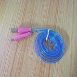 СИД освещая микро- кабель USB для Android мобильного телефона