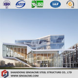 Estilo europeu edifício Certificated da exposição da construção de aço