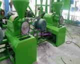 Polvo de goma semiautomático automático lleno que hace la máquina para el reciclaje inútil del neumático