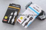 2 en 1 cable de carga USB con anillo magnético para el teléfono iPad