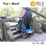 Fauteuil roulant multifonctionnel tous terrains s'élevant d'énergie électrique d'escaliers