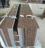 (G562) Comptoirs en granit en granit rouge en érable