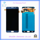 Pantalla táctil elegante del teléfono LCD para la visualización N9200 de la nota 5 de Samsung