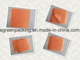 Orange Microfiber Brille-Putztuch mit geprägtem Firmenzeichen