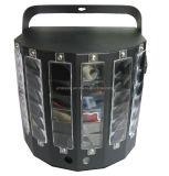 Nuevo diseño de láser LED de luz LED dual Derby luces laser LED DMX espadas de luz con control remoto