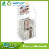 Sostenedor de acrílico claro Pocket vendedor caliente de la tarjeta de visita 4