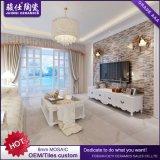 Nueva sala de estar de la pared 285X300m m del azulejo TV de la pared del mosaico del diseño de Foshan