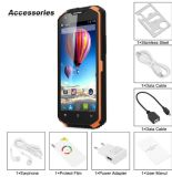 Android 5.1 13.0MP 4500mAh IP68 da ROM original 5.5 do RAM 16g do núcleo 2g do quadrilátero X3 do no. 1 o '' Waterproof a cor esperta do preto do telefone
