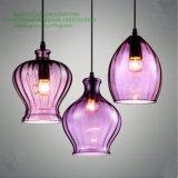 Het kleurrijke Licht van de Tegenhanger van de Fles van het Glas voor Restaurant (GD-640-1ABC)