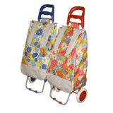 2017 Novo saco de carrinho de rodas com 2 rodas de compras
