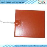 Caucho de silicón impermeable de la película de la calefacción flexible