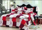 China 100% Reeks van het Beddegoed van de Polyester de Microfiber Afgedrukte die voor Huis of Hotel wordt gebruikt