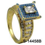 다이아몬드를 가진 공장 도매 925 순은 보석 반지