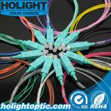 Tresse de fibre optique de Sc Om3