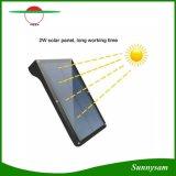 42 Luz Solar de LED de luz do sensor de movimentos PIR de Rua Jardim de lâmpadas de luz de segurança à prova de rua de parede exterior