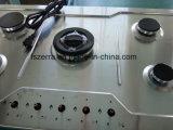 Apparecchio di cucina della fresa del gas dei cinque bruciatori (JZG85812)