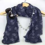 De unieke Sjaal van het Patroon van Motobike van de Druk van het Ontwerp voor Dame Fashion Accessory Scarf