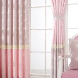 Производитель оптовой шелковую драпировку окно с одной спальней шторки с вышитым