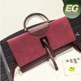 女性高品質のスエードの肩のClucth新式のHandbag袋中国製Sy8131