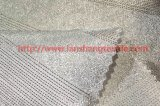 Tejido de poliéster teñido jacquard Tela de fibra química de vestido de la mujer Inicio Industria Textil