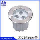 12V IP68 Unterwasserlicht des Edelstahl-Material-DMX RGB 9W 12W des Brunnen-LED