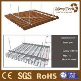 Venta al por mayor de madera superventas del techo del PVC del compuesto WPC del material de construcción