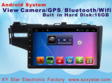 L'automobile Android DVD di percorso del sistema GPS per Honda misura lo schermo di capacità di 10.1 pollici con Bluetooth/TV/WiFi/USB