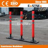 Seguridad vial de plástico flexible delineador poste de muestra