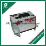 Caixa de papel de embalagem de frutas corrugadas com janela de PVC