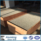 Espuma de aluminio para los techos y las paredes