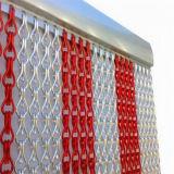 Decorative Beautiful Color Aluminum Link Chain Curtain Metal