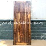 Einfacher Entwurfs-hölzerne Tür fertige Raum-Tür gebildet vom amerikanischen schwarze Walnuss-Holz