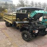 4*2WD de la minería de la capacidad de las cuatro ruedas de camión volquete granja