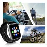 SIMのカードスロット(GT08)が付いている安いBluetoothのスマートな腕時計の電話