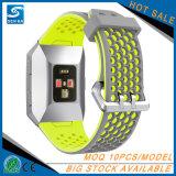 Le remplacement folâtre le bracelet de courroie de bande de montre de silicones pour la montre ionique de Fitbit