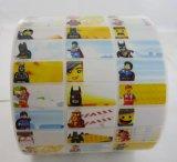 Impermeable de PVC adhesivo nombre de los niños de dibujos animados en las etiquetas de hierro