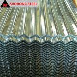 電流を通された波形亜鉛によって塗られる鋼鉄または金属または鉄または屋根シート