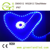 Novo Tipo Sonho Digital Color ws2813 5V tira de LED de alta qualidade de luz