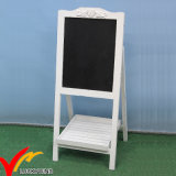 Shabby Chic Vintage Wooden Easel Antique Blackboard
