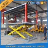 3t 3m doppelte Plattform Scissor Auto-Aufzug-hydraulischen Auto-Aufzug